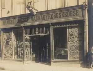 Hamerli József Vasnagykereskedése Pécs