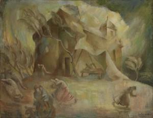 Gebauer Ernő festménye